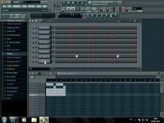 ��������� �� �������� ��� (RAP) ��������� (������, �����) � FL studio 9 (FLstudio)